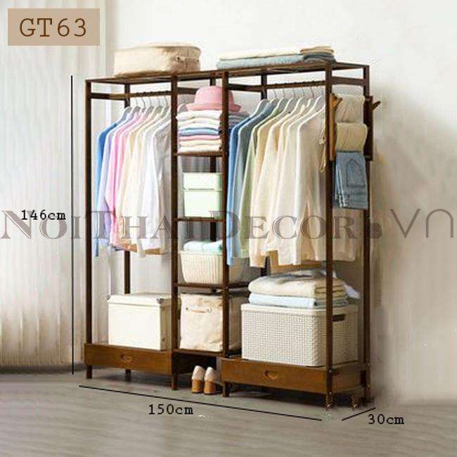 Giá treo quần áo GT63