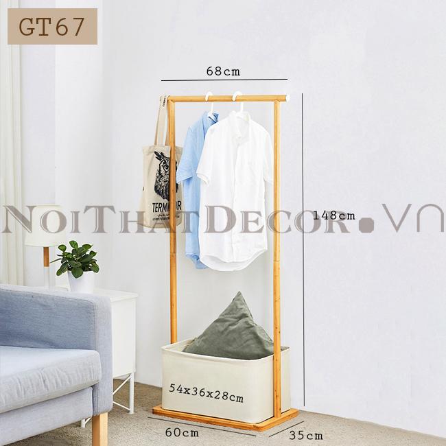 Giá treo quần áo GT67