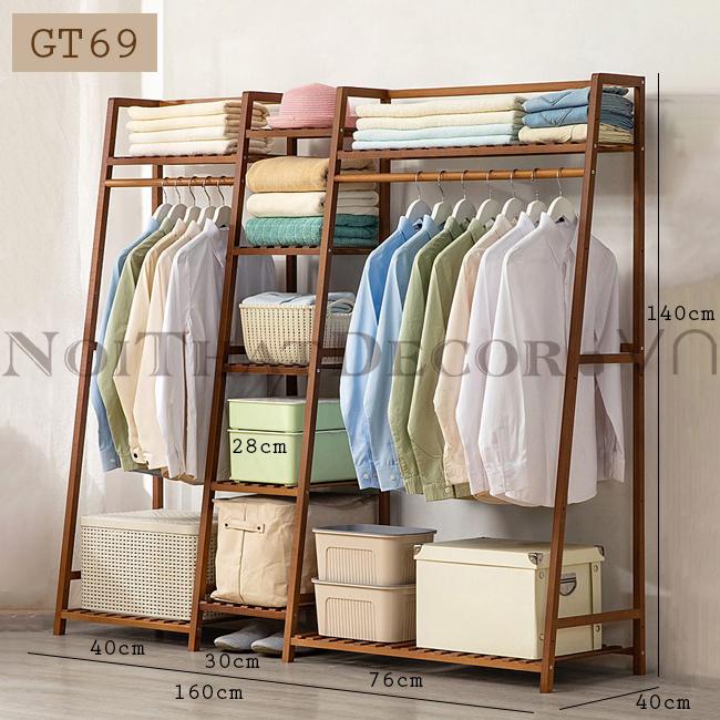 Giá treo quần áo GT69