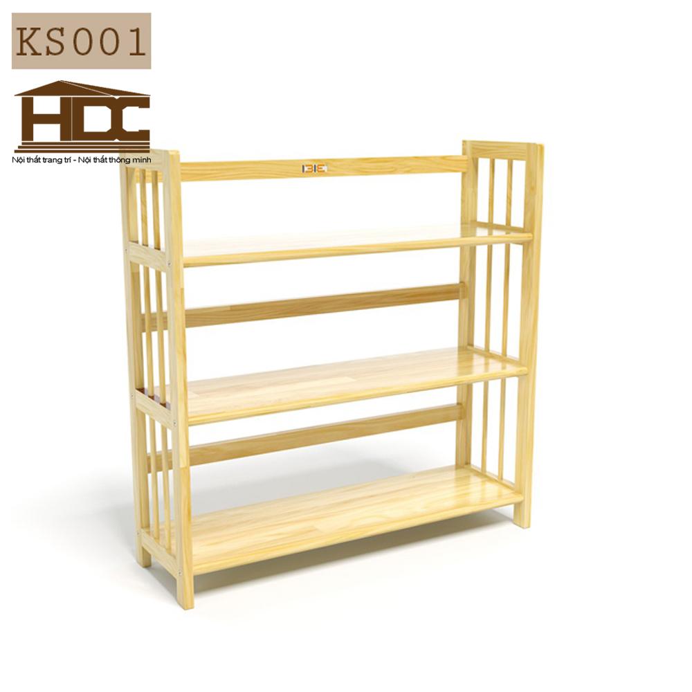 Kệ giá sách 3 tầng KS001