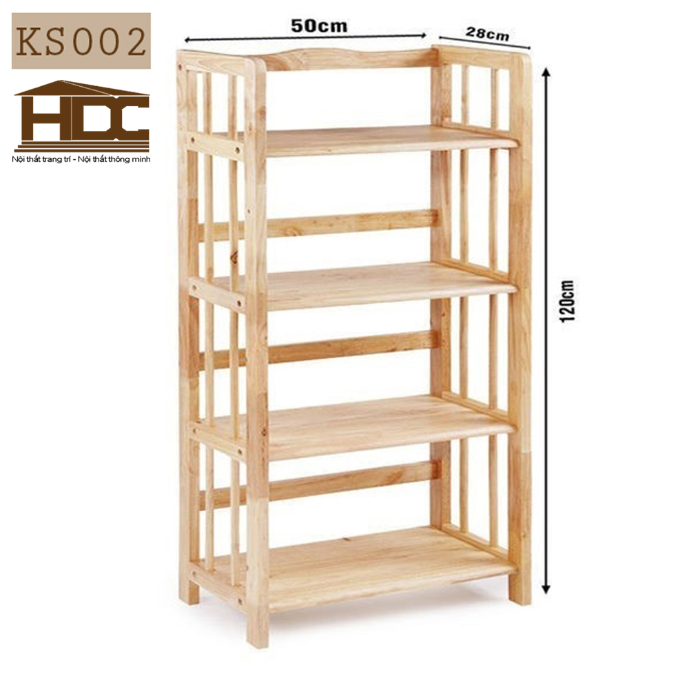 Kệ giá sách 4 tầng KS002