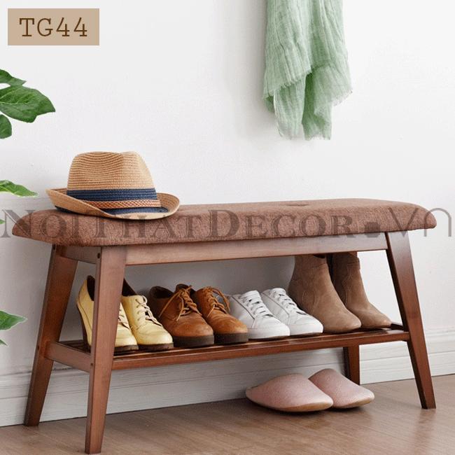 Giá kệ giày dép có ghế ngồi TG44