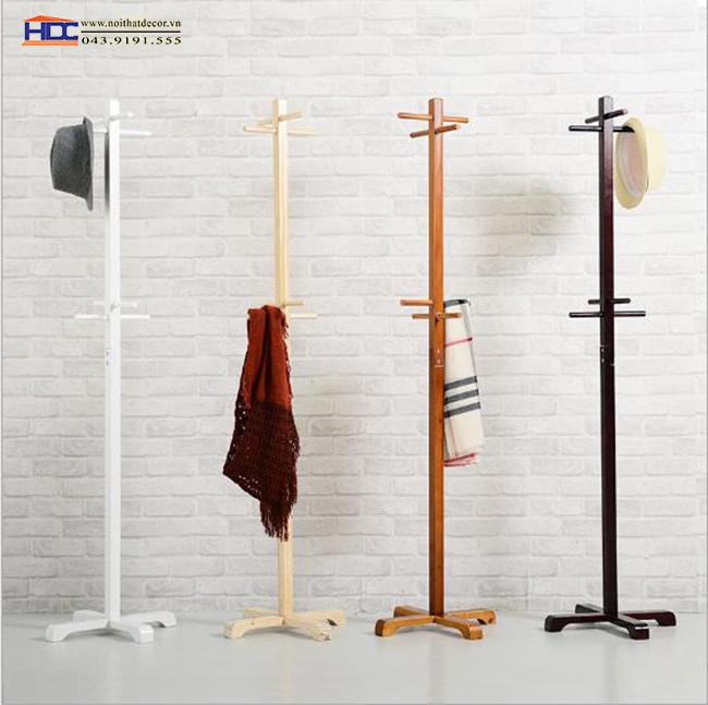 Cây treo quần áo bằng gỗ mẫu 6