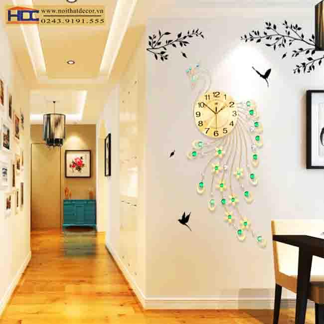 Đồng hồ treo tường DH007