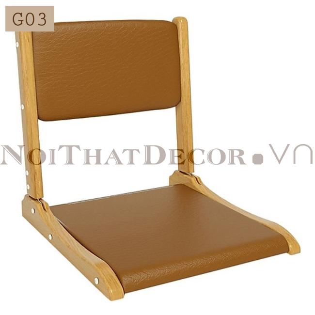 ghế bệt ghế bàn trà tiện ích G03