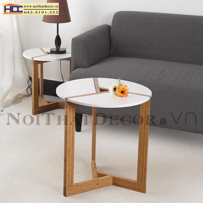 bàn cafe bàn góc kệ góc bàn trà bàn tròn Noithatdecor.vn