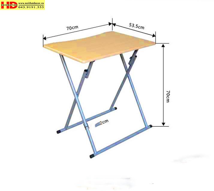 bàn gấp tiện dụng bàn góc tường bàn góc bàn gấp Noithatdecor.vn