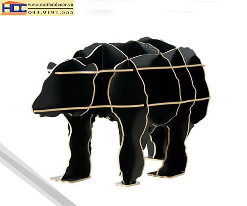 kệ sách đẹp kệ sách tiện lợi giá sách con vật giá kệ sách hình con gấu Noithatdecor.vn