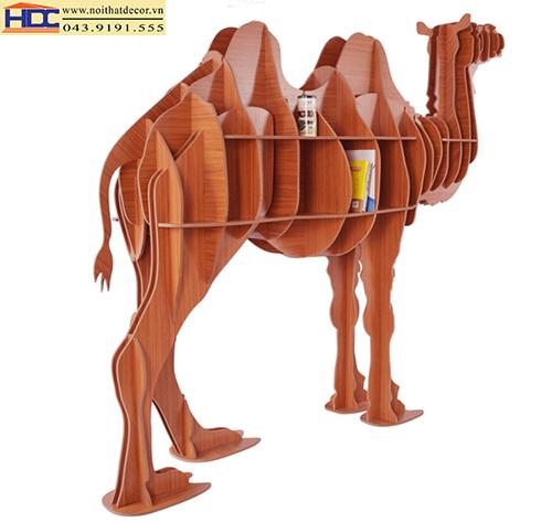 Kệ sách hình con lạc đà KT - 012