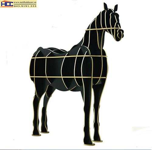 Kệ sách hình con ngựa KT - 016