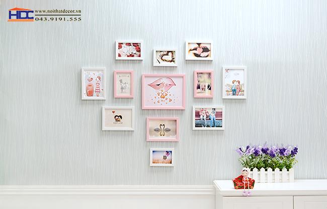 khung ảnh treo tường khung ảnh đẹp khung ảnh bộ khung ảnh trang trí noithatdecor.vn