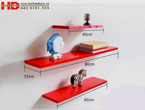 Kệ treo tường kệ trang trí Giá để đồ đẹp NoiThatDecor.vn