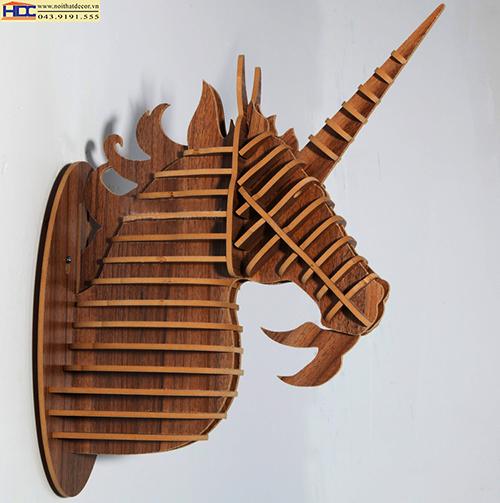 kệ treo tường,kệ trang trí giá để đồ đẹp, hộc để đầu kệ trang trí đầu thú noithatdecor.vn