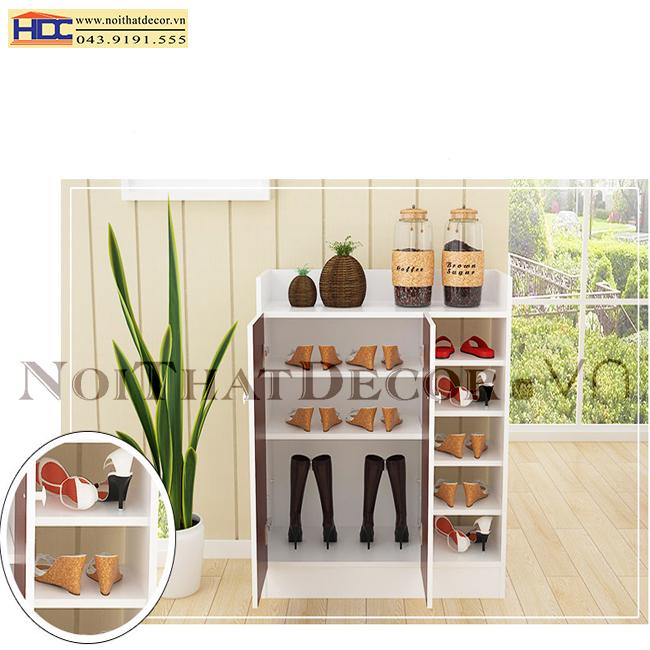 tủ để giày dép noithatdecor.vn